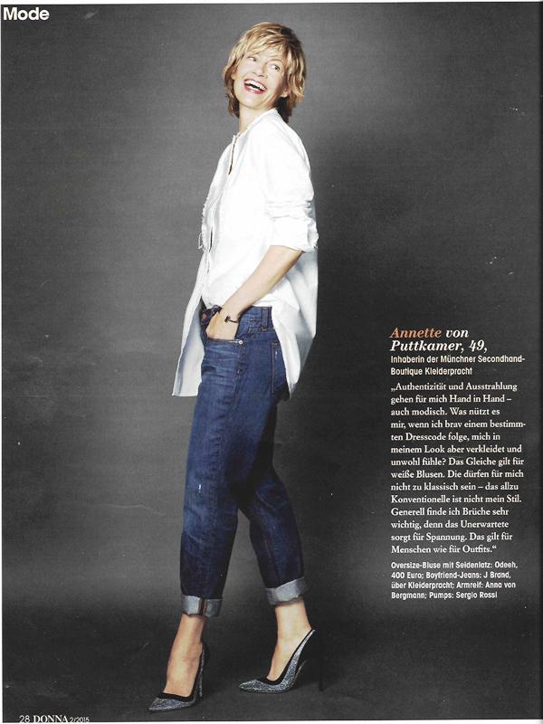 Annette von Puttkamer Donna Magazin