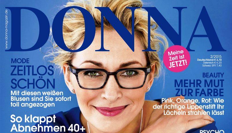 KLEIDERPRACHT im DONNA Magazin